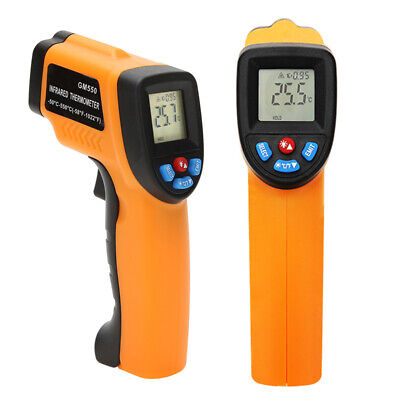 -50~550℃ Digital Infrared Temperature Gun Thermometer Non-Contact IR Laser Point