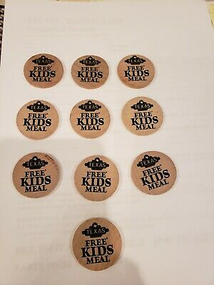 Texas Roadhouse kids meal coins