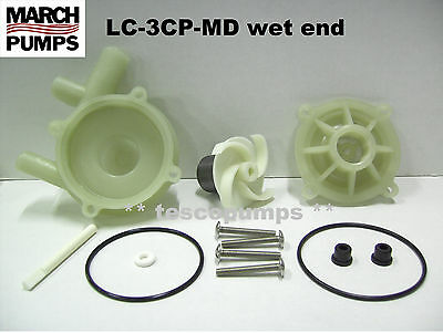 March Submersible Pump LC-3CP-MD wet end kit 0130-0115-0200 PML500