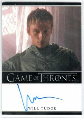 Game Of Thrones Season 4 Will Tudor As Olyvar Autograph Limited