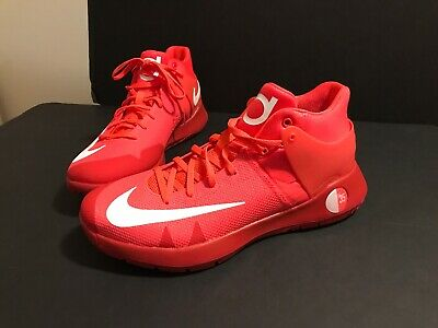 b36e011f4d8 Nike KD Trey 5 IV Mens 844571-616 Crimson Red Durant Basketball Shoes Size  9.5