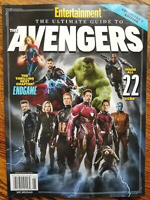 Entertainment Weekly ~ The Ultimate Guide To The Avengers ~ Endgame