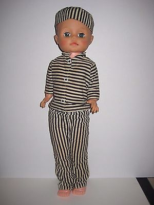 """""""BAD BOY"""" STORE VINTAGE PROMOTIONAL DOLL  RELIABLE TOYS 1960s"""