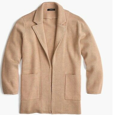 preview of best service good selling NWT J.CREW JCREW Sophie open cardigan sweater blazer XS camel ...
