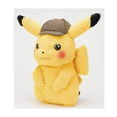 2019 New Pokemon Center Original Pokemon Detective Pikachu Plush - 16 In.