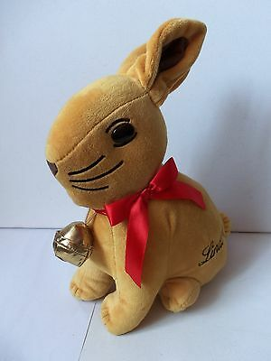 Lindt Rabbit Plush Soft Toy Figure Rattle Chocolate