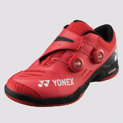 Yonex Badminton Squash Indoor Infinity Mens Shoes Red,Double-Dial BOA Fit System