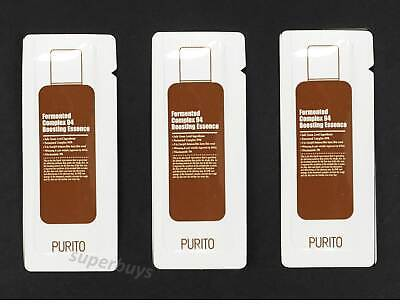 3pcs Samples Korea Purito Fermented Complex 94 Boosting Essence Cleanse Wrinkle