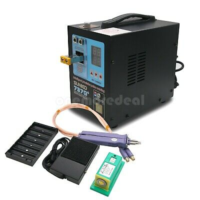 737G+ Spot Welder 220V 4.3KW Welding Machine+S-70BN Welding Pen for Battery Pack