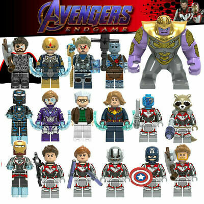 New AVENGERS 4 Endgame Minifigures MARVEL Minifigure Mini Figure Super Hero