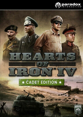 Paradox Interactive Hearts of Iron IV: Cadet Edition Basic+Add-on Linux/Mac/PC E