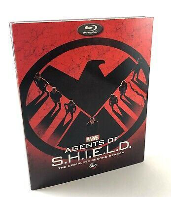 Marvel Agents of SHIELD Complete Season 2 -(Blu-Ray DVD) SHIELD S2 - Brand New!