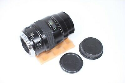 Canon EF 100mm F/2.8 Macro AF Lens Made In Japan