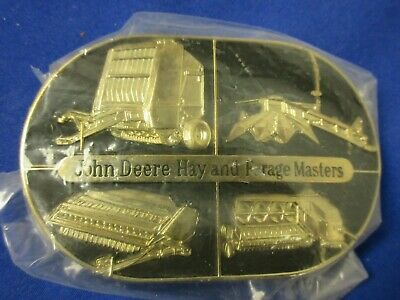 1989 John Deere Hay & Forage Master belt buckle lot R