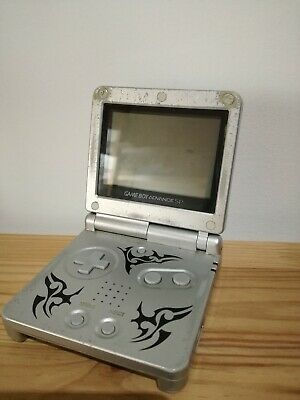 Console Game Boy Advance Sp Nintendo Tribal Edition