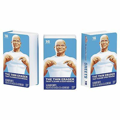 Mr. Clean Magic EraserCleaning Sheets, 3 Packs of 16 Sheets, 48 Count