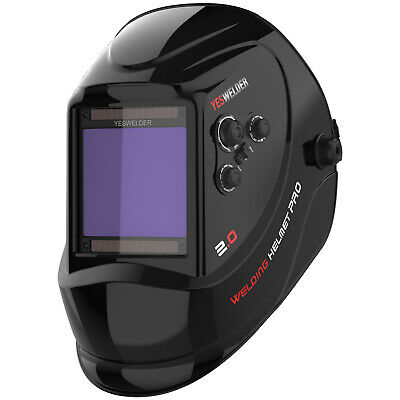 Large Screen True Color Auto Darken Welding Helmet/ Mask for WELD/CUT/GRIND