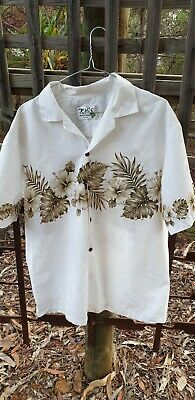 Original Retro Vintage Made in Hawaii Shirt  Palms size Large Mens KY's