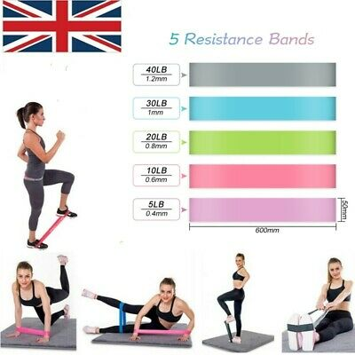 Resistance Hip Circle Band Booty Exercise Glute Non-Slip Peach Glute Loop Band