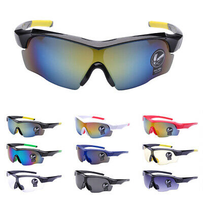 Safety Explosion-proof Sunglasses Goggle UV400 for Cycling Bike Running Fishing