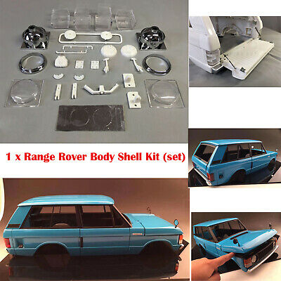 1/10 Scale Classic Range Rover Hard ABS Body Shell Set (313 mm WB) Split Design