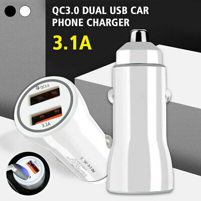 CB52 Charge 3A Fast Car Charger Adapter Portable 3A Quick