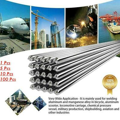 5/10/100x Easy Melt Welding Rods Low Temperature Aluminum Wire Brazing 1.6mmx5cm