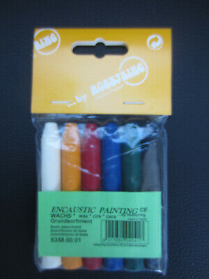 Encaustic Wachs Farbe: Grundsortiment  -  Hobbyring