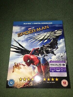 Spider-Man: Homecoming - Blu-Ray in Slipcase - MARVEL AVENGERS