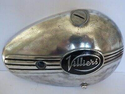 Villiers 8E Motorcycle Engine Clutch Cover Polished Aluminum