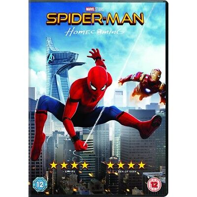 Spider-Man Homecoming Marvel Dvd Brand New & Factory Sealed Mint Condition