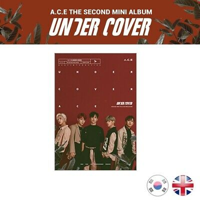 [NEW + SEALED!] A.C.E Under Cover 2nd Mini Album ACE Undercover Kpop K-pop UK