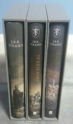SIGNED The Children Of Hurin + Beren And Luthien + The Fall Of Gondolin. Tolkien