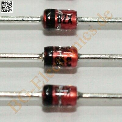 20 x bzx85c18 silicon Power Zener diodes 1,3w 1v 18v 66ma do-41 Fagor 20pcs