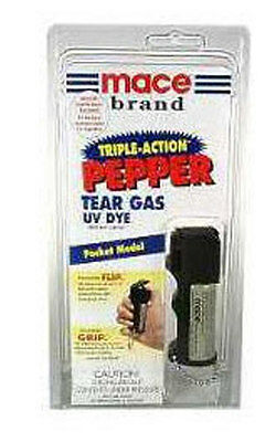 Mace Jogger Triple POWER Pepper Spray Self Defense PROTECTION SEE RESTRICTION;