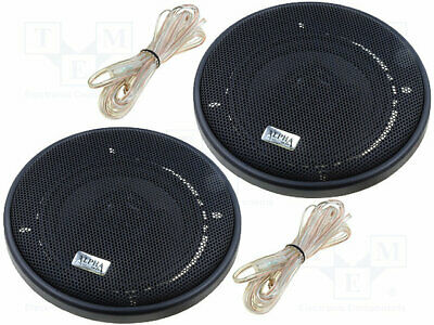 Car loudspeakers; two-way; 100mm; 60W; 90÷17000Hz; 2 loudspeakers(1 set)