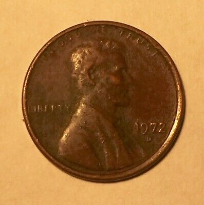 1972 D Lincoln Memorial Cent / Penny  Nice coin for your collection