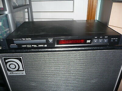 Tascam DV-D-01U CD / DVD player 1u rackmount