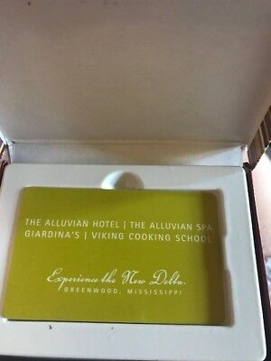 Hotel The Alluvian Hotel and Spa Gift Card Credit MS $466- at a $152 discount!