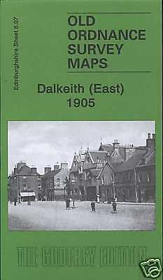 Old Ordnance Survey Map Dalkeith East 1905