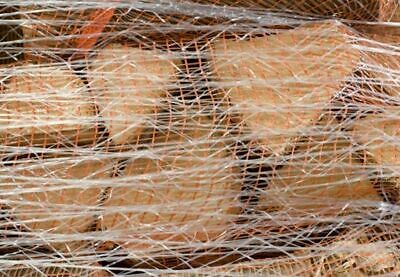 Stretch Pallet Netting 750 meters Hand Roll Flex Net Elastic Mesh Turf Logs Wrap