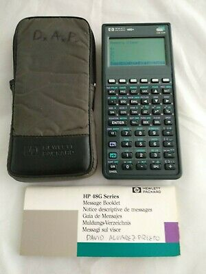 Calculadora HP 48G+ PLUS con funda # 536