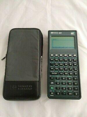 HP Calculator 48GX with case # 537 Hewlett Packard