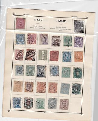 Italy Stamps Ref 14894