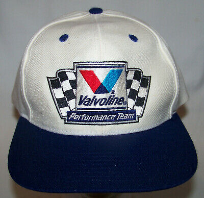 6e889c6df VINTAGE VALVOLINE PERFORMANCE Team Snapback Hat Gas Oil Racing ...