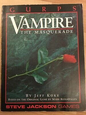 VAMPIRE THE MASQUERADE RPG 5th Edition - Core Rulebook - New