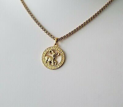 84b5b89d00ef87 ARIES NECKLACE TINY New Zodiac Sign with Birthstone 14k Gold Filled ...