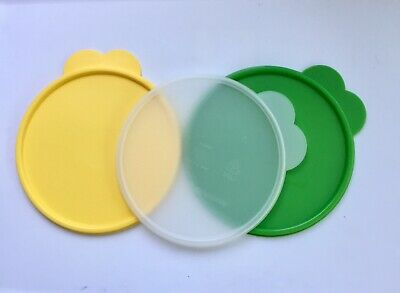 Tupperware Seal Replacement C Lid Butterfly Tabbed Wonderlier #2541A NEW