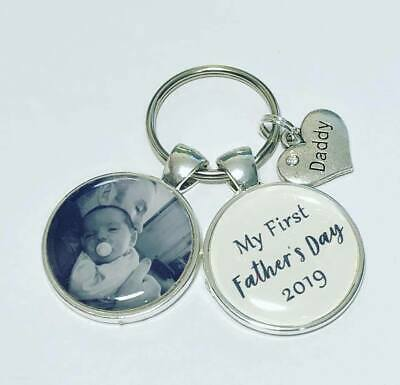 My first Fathers Day 2019 photo keyring Daddy gift