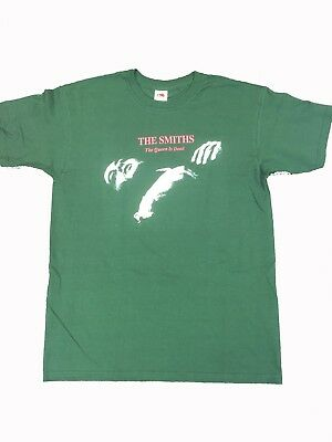 Mens  The Smiths Queen Is Dead Green  T Shirt   Free  Uk Postage